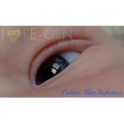 SMALL IRIS - Ultra Newborn Glass Eyes - Blue Reflection