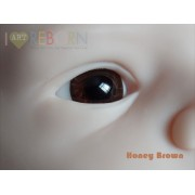Ultra Newborn Glass Eyes - Honey Brown